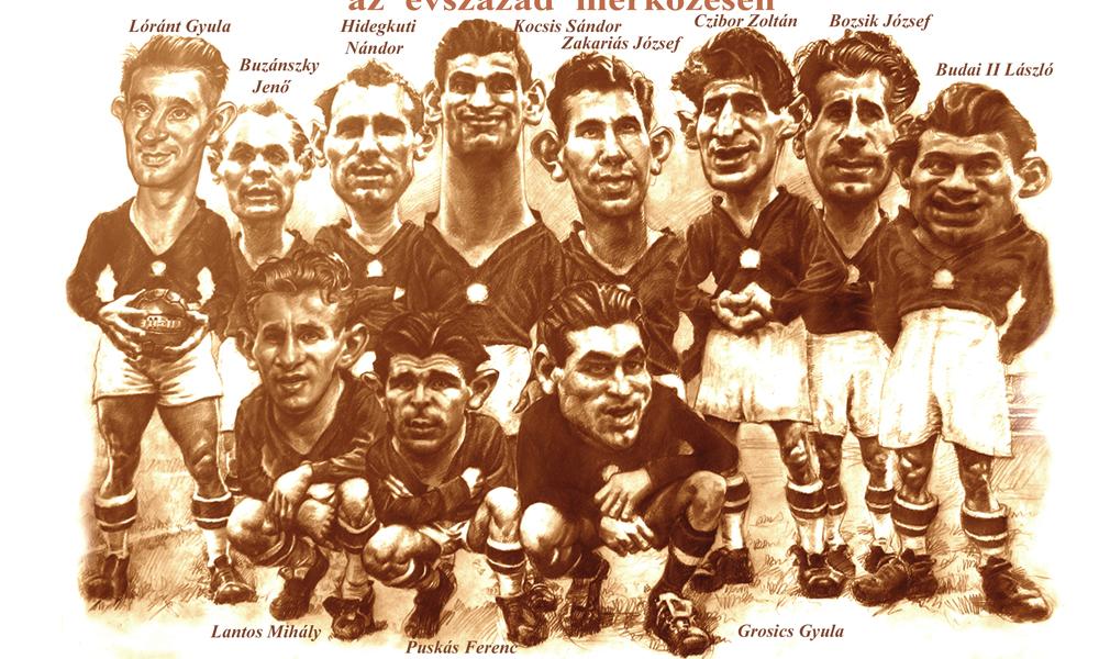 Titani del calcio: puntata II, la grande Ungheria di Puskas