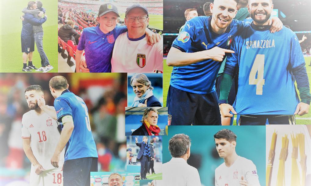 Italia-Spagna: l'assoluta bellezza del calcio tra personaggi, cuore, gioia e amarezze