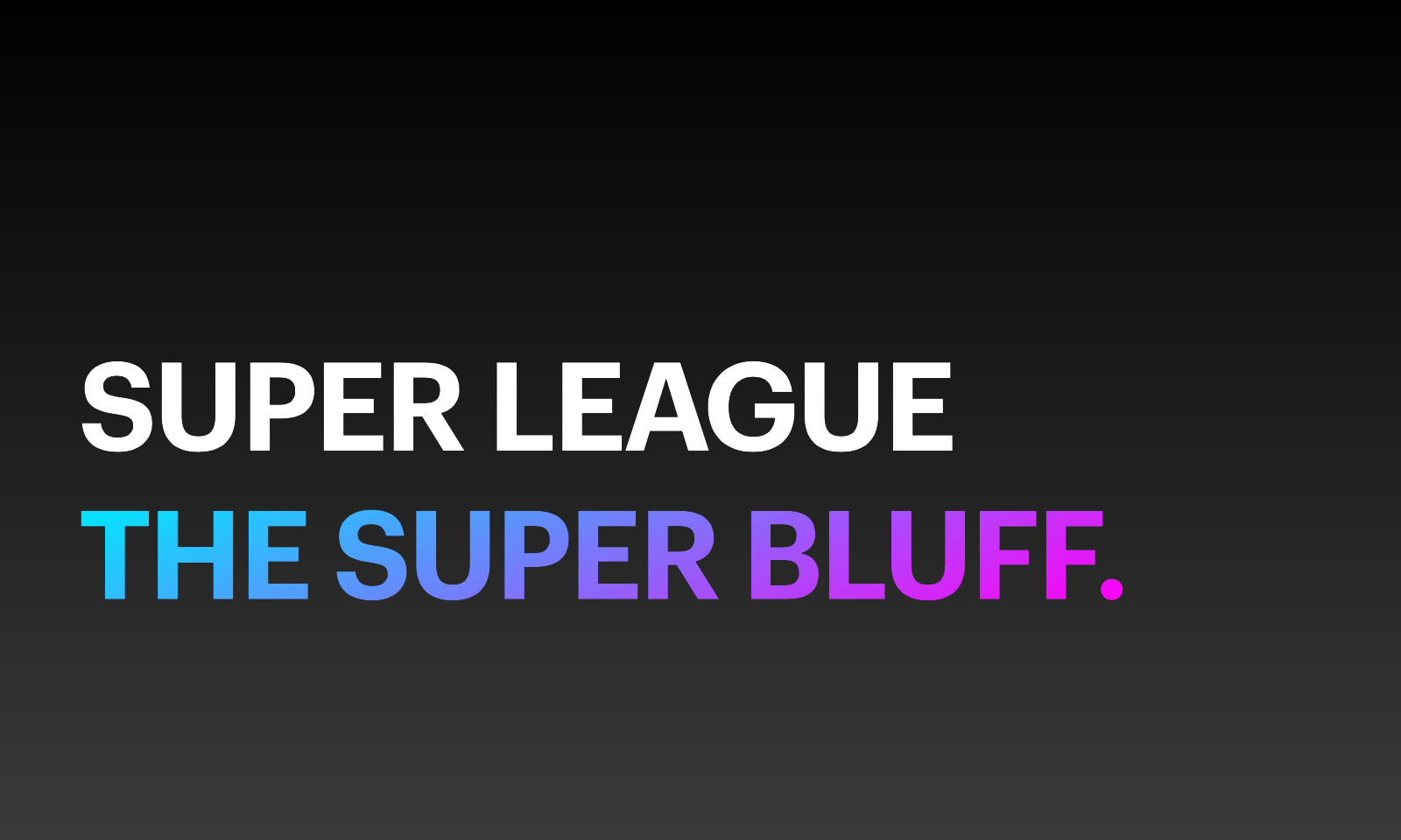 Ecco perché la Super Lega è fallita: per super incompetenza