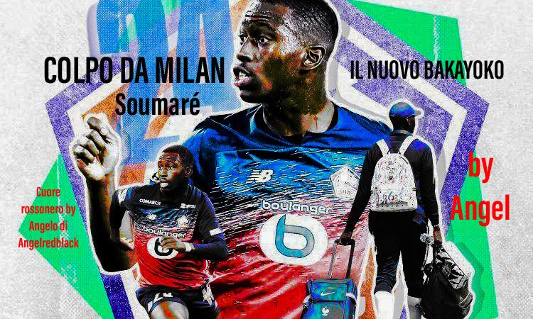 Milan, fisicità e sicurezza per te. The new Bakayoko: Soumaré