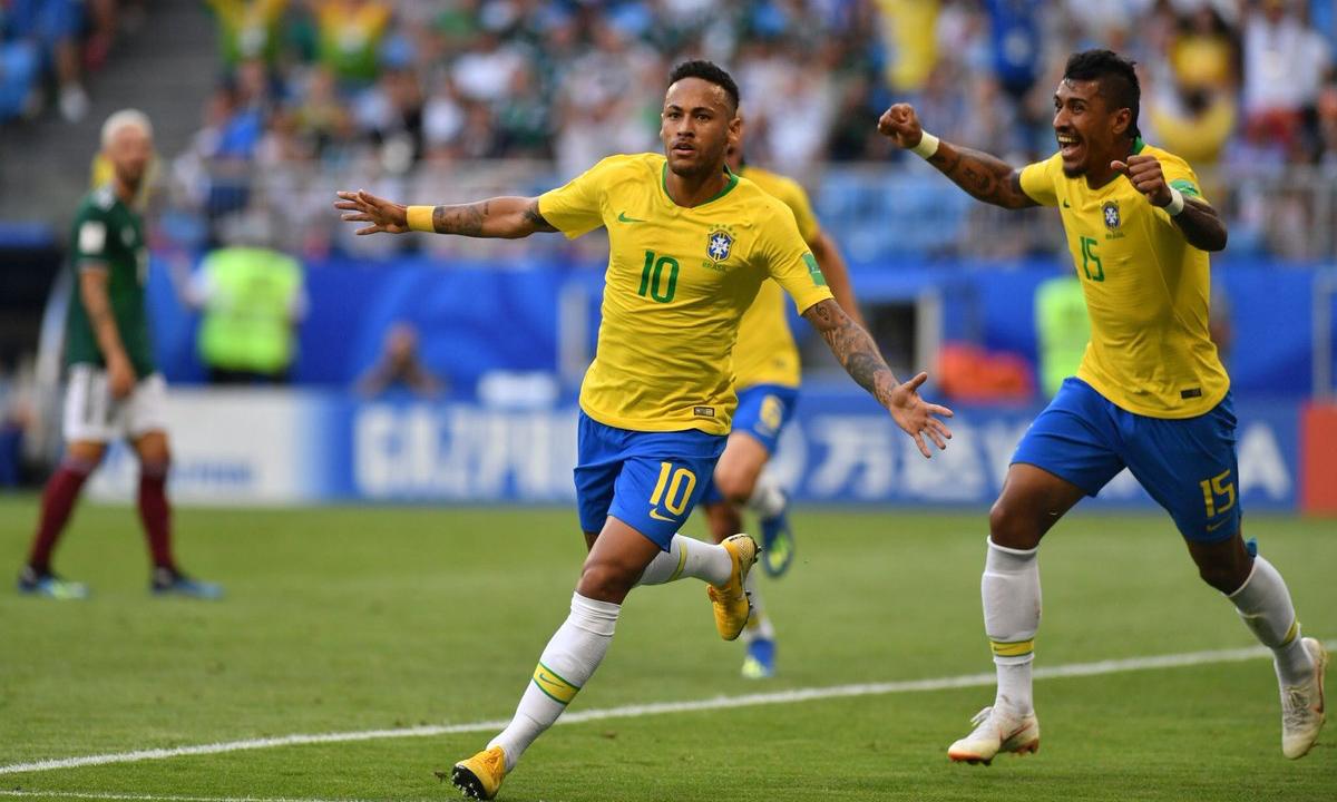 Neymar come Messi e CR7: il Brasile vola!