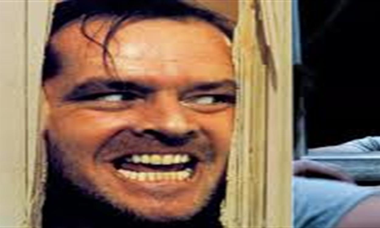 Antonio come Jack Torrance