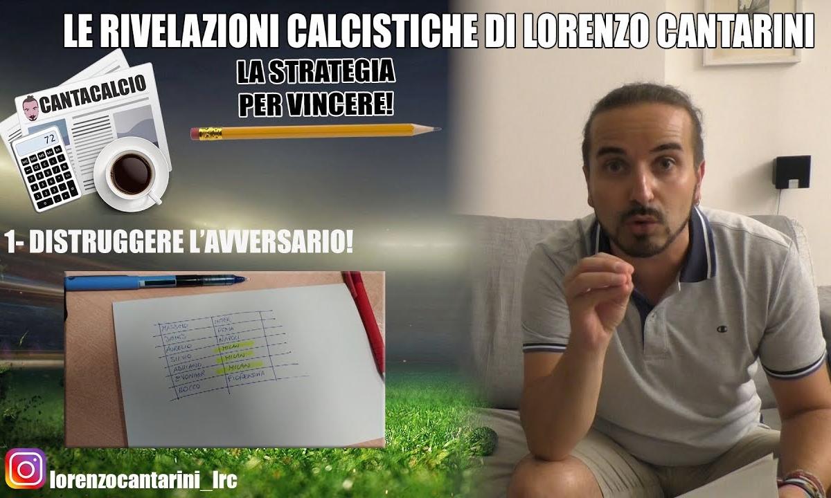 Fantaconsigli #8 - Chi schierare? Parla Lorenzo Cantarini