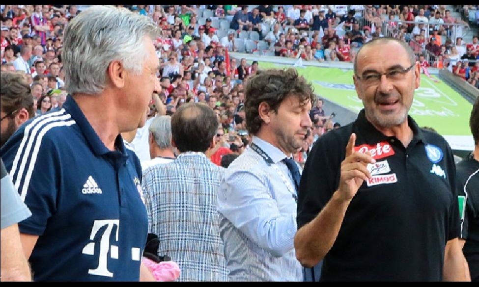Arrivederci Sarri, benvenuto Ancelotti. Chi ne esce meglio?