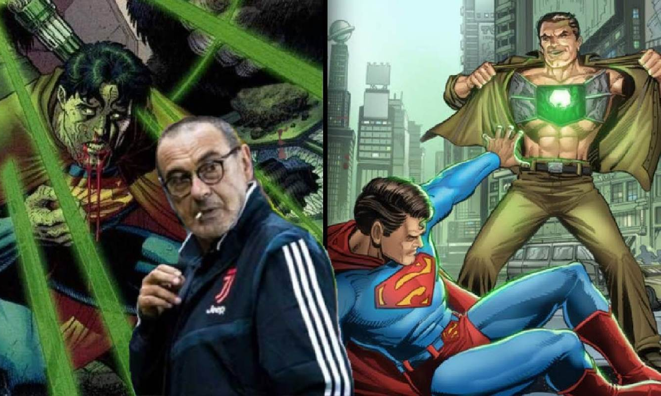 Sarri per la Juve è come la Kryptonite per Superman