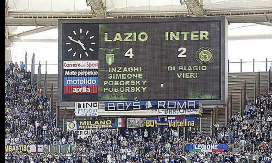 """Lazio-Inter story: quel famoso """"5 maggio"""""""