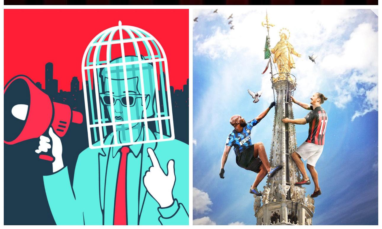#BARVxL: Ibra-Lukaku e il falso moralismo. Prima la gente perbene