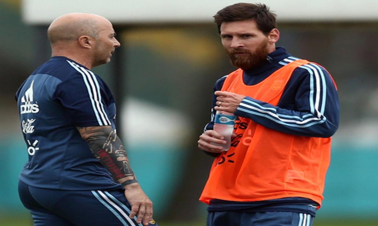 Sampaoli? Solo una marionetta di Messi