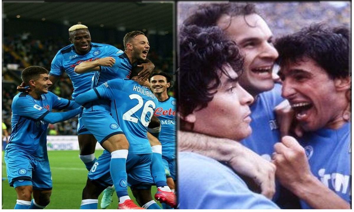 Questo Napoli accostato a quello di Maradona