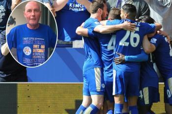 Tony Skeffington non ce l'ha fatta, il Leicester sì.