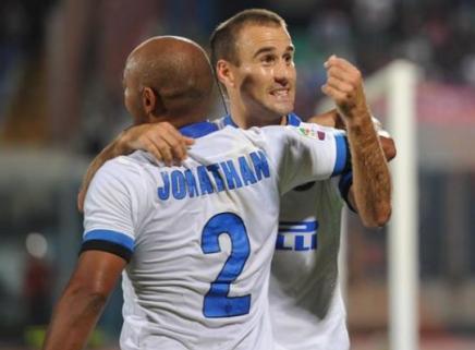 Catania-Inter, È quasi magia Johnny