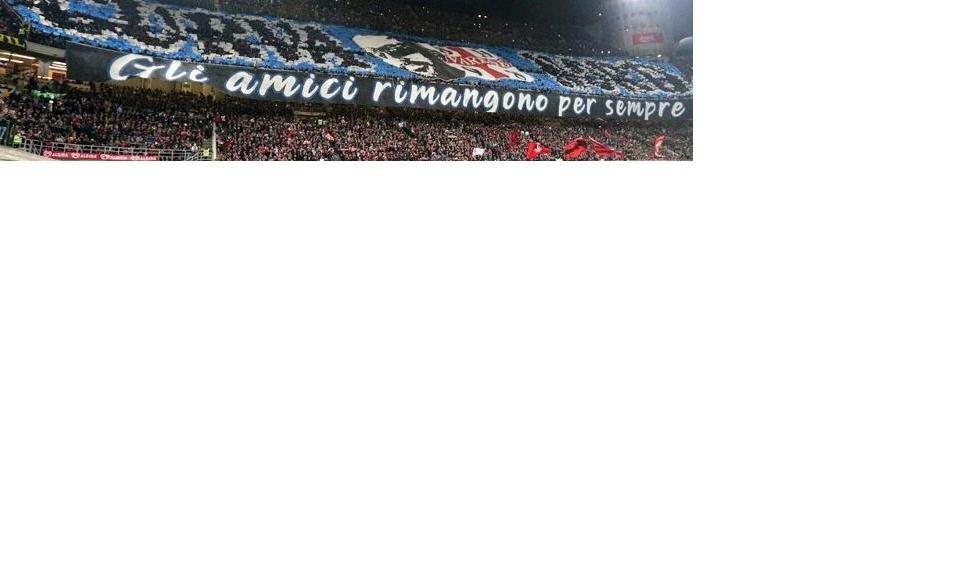 Derby: l'Inter condanni lo striscione della curva