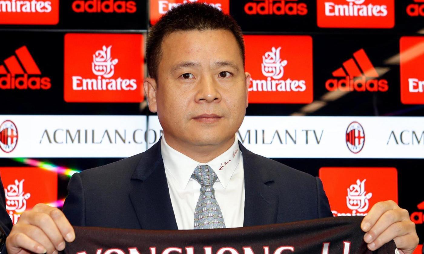 Milan: Yonghong Li indagato per falso in bilancio