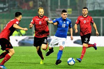 Le PAGELLE di Italia-Albania 2-0