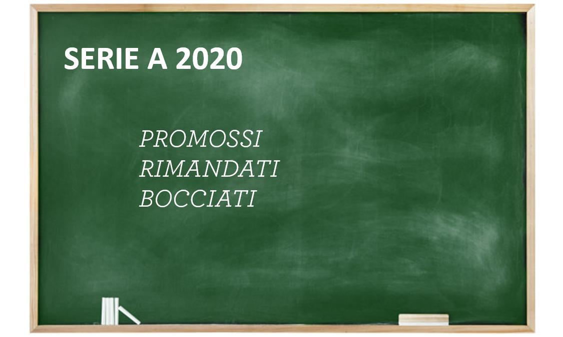 SERIE A 2020: promossi, rimandati e bocciati