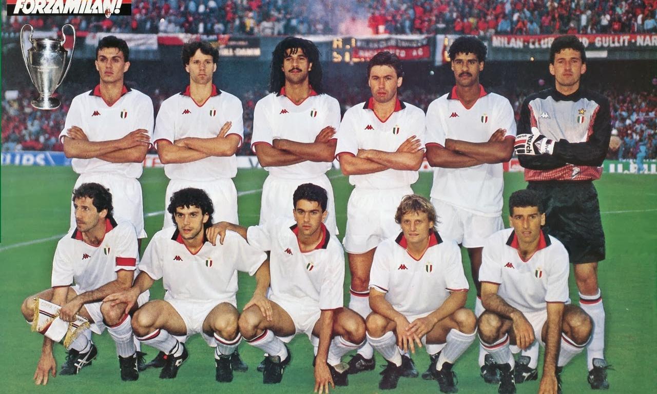 Titani del calcio: puntata VIII, il grande Milan di Sacchi