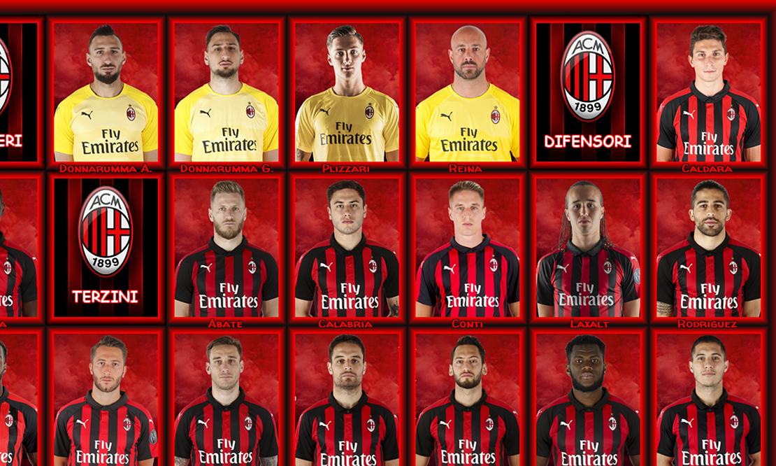 Il Giocatore più utilizzato dal Milan in Serie A