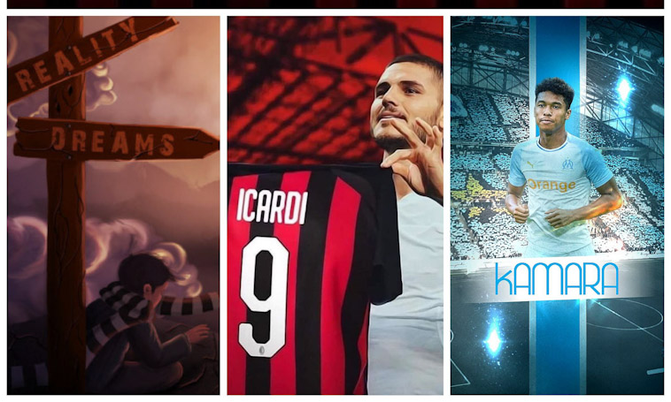 Milan: Icardi & Kamara: sogni di platino o realtà di qualità?