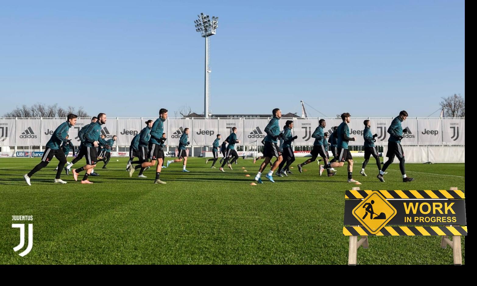 """Juve: ancora """"lavori in corso"""""""