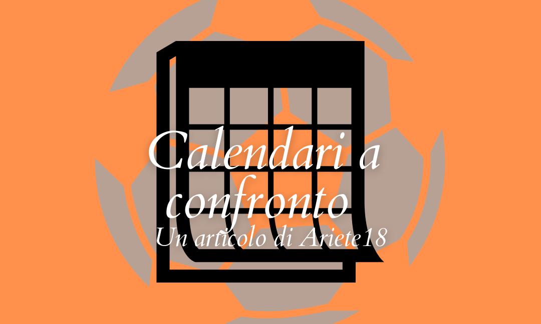 """Calendari a confronto: chi ha il più """"complesso""""?"""