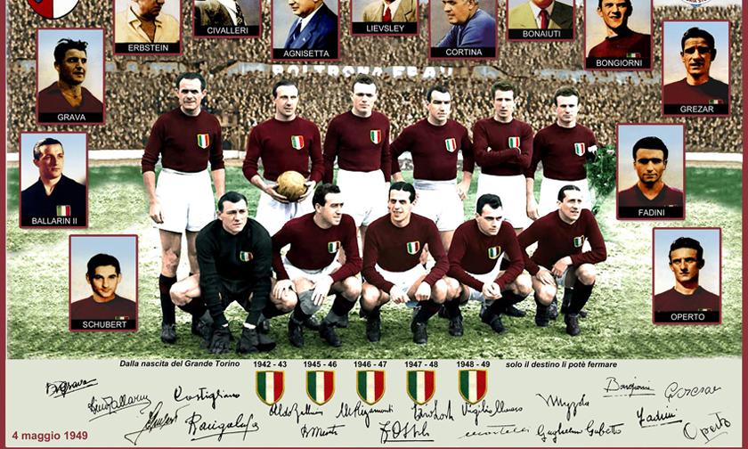 Titani del calcio puntata III: il Grande Torino di Mazzola