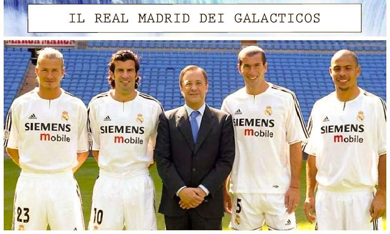 "Il Real Madrid dei ""Galacticos"": l'impero delle merengues"