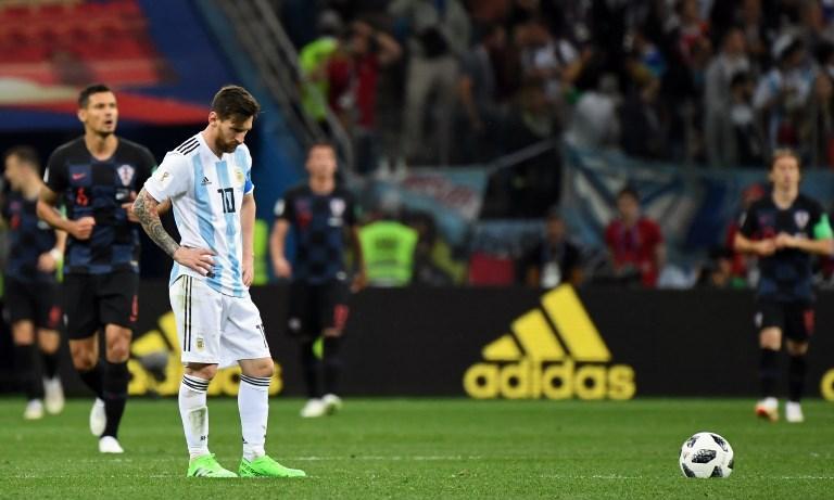 L'imprevedibile (?) disfatta dell'Argentina e di Messi