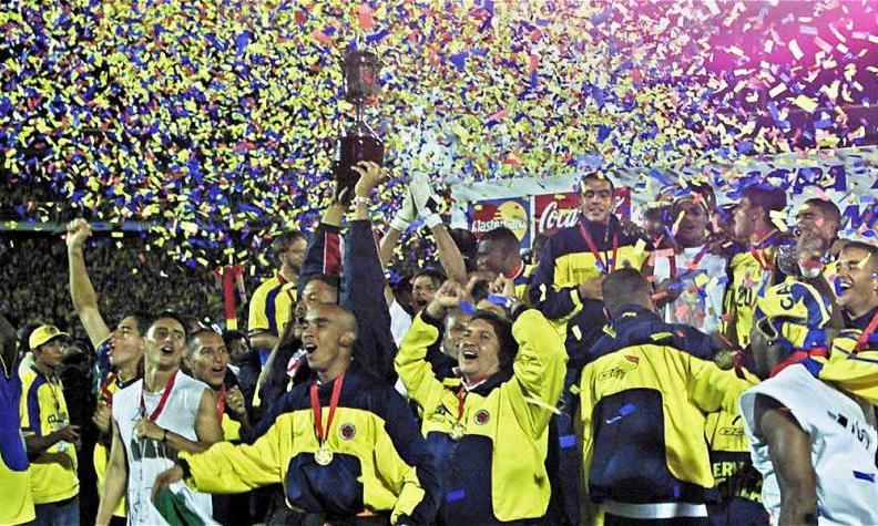 La storia della Copa America 2001