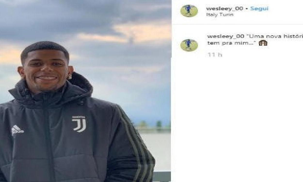 Wesley, il nuovo acquisto della Juve
