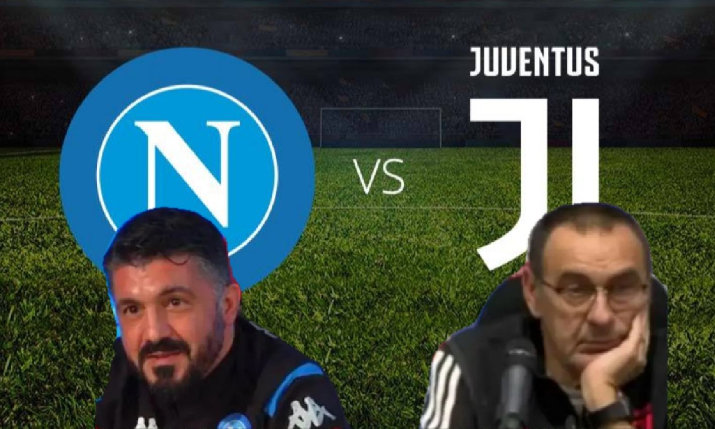 Napoli-Juventus: a voi lo show