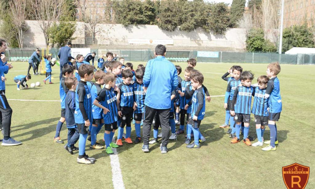 """Romulea-Inter, """"formiamo i campioni del domani"""""""