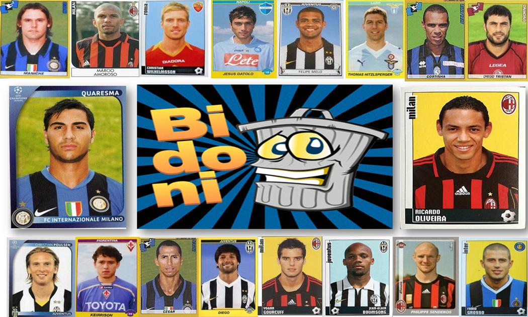 """Calcio e bidoni anni 2000': """"Top"""" 30 del secondo quinquennio"""